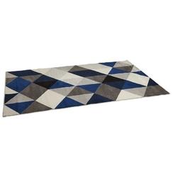 Nowoczesny dywan muoto granatowo-szary  230x160 cm