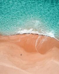 Lato na plaży - mały plakat