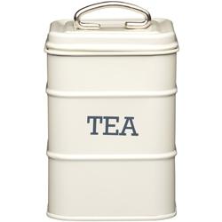 Pojemnik na herbatę kitchen craft kremowy lnteacre