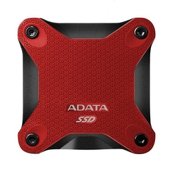 Adata Dysk SSD External SD600Q 240GB USB3.1 Red