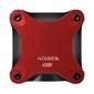 Adata Dysk SSD External SD600Q 240GB USB3.1 Red