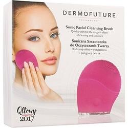 Dermofuture soniczna szczoteczka do oczyszczania twarzy, różne kolory zielona