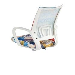 Krzesło obrotowe z kolorowym motywem ibis freestyle