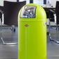 Duży kosz na śmieci fioletowy pushboy 50 litrów wesco 175831-36
