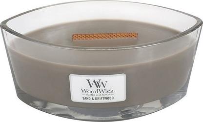 Świeca hearthwick flame woodwick sand  driftwood