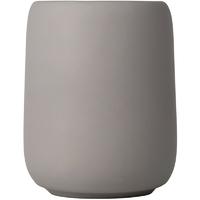 Kubek ceramiczny na szczoteczki do mycia zębów blomus sono taupe b69048