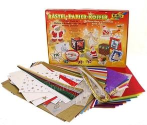 Zestaw kreatywny - ozdoby świąteczne 110 elementów