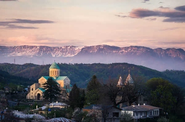 Gruzja, bagrata - plakat premium wymiar do wyboru: 40x30 cm