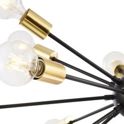 Lampa wisząca w stylu loft na 18 gołych żarówek jackson maytoni t546pl-18b