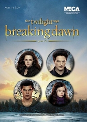 Twilight - Breaking Dawn Part 2 - zestaw 4 przypinek