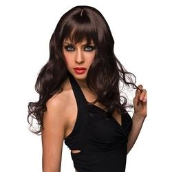 Sexshop - peruka pleasure wigs - model joey wig brown - online
