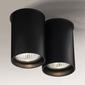Shilo :: oprawa natynkowa arida 112 gu10 - czarna