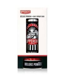 Uppercut deluxe - zestaw do stylizacji włosów - deluxe pomade i salt spray