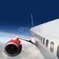 Obraz na płótnie canvas dwuczęściowy dyptyk skrzydła i silniki samolotów