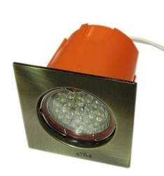 OPRAWA  Schodowa LED do umieszczenia w puszce fi60 - PATYNA