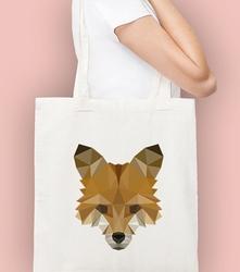 Lis stfurczość torba na zakupy naturalna universal