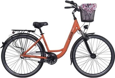 Rower miejski cossack economic city pomarańcz 2017