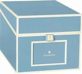 Pudełko na zdjęcia i płyty CD Die Kante błękitne