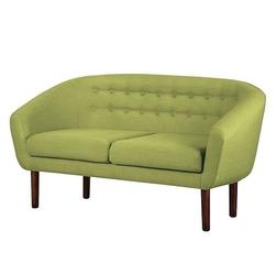 Sofa tapicerowana tana 2 os, zielona