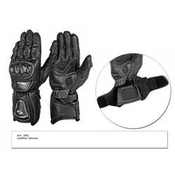 Tschul rękawice skórzane motocyklowe 295 black