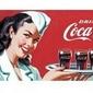 Coca cola advert - reprodukcja