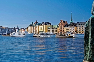 Fototapeta na ścianę błekitny stockholm fp 2171