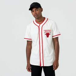 Koszulka New Era Chicago Bulls Button Up - 12033452