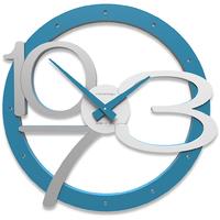 Zegar ścienny Scarlett CalleaDesign jasnoniebieski 10-127-74