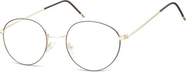 Lenonki oprawki optyczne 929d złote + czarne