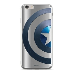 ERT Etui Marvel Kapitan Amerika 006 iPhone Xs srebrny MPCCAPAM2483