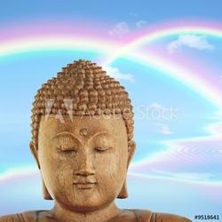 Obraz na płótnie canvas dwuczęściowy dyptyk nirwana buddy