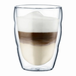 Bodum zestaw 2 szklanek 0,25 l pilatus