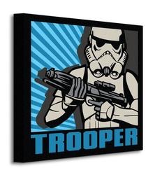 Star wars rebels trooper - obraz na płótnie