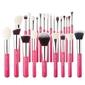 Jessup individual brushes set zestaw pędzli do makijażu 25 sztuk rose carmin t195