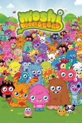 Moshi monsters grupa - plakat