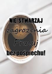 Kawa - plakat wymiar do wyboru: 21x29,7 cm