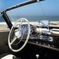 Obraz rocznika wnętrze samochodu