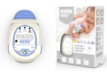 Snuza hero md atestowany przenośny monitor oddechu dla niemowląt