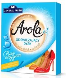 Arola, general fresh, fresh breeze, odświeżający dysk do szaf i szafek, 1 sztuka