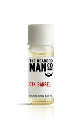 Bearded man co - olejek do brody dębowa beczka - oak barrel 2ml