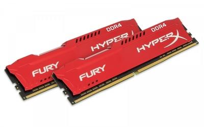 HyperX DDR4 Fury 32GB216GB 3200 CL18 Czerwona