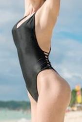 Pocket jednoczęściowy strój kąpielowy