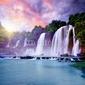 Naklejka samoprzylepna banyue wodospad