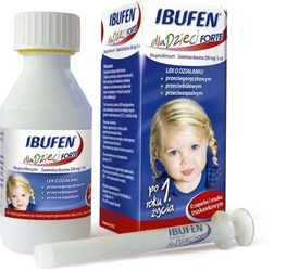 Ibufen forte zawiesina dla dzieci 40ml truskawkowa