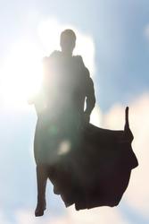 Człowiek ze stali - Man Of Steel - plakat Wymiar do wyboru: 29,7x21 cm