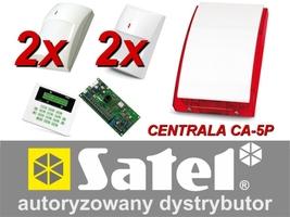 Alarm satel ca-5 lcd, 2xgraphite pet, 2xgray plus, syg. zew. sp-4003 - możliwość montażu - zadzwoń: 34 333 57 04 - 37 sklepów w całej polsce