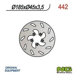 Ng442 tarcza hamulcowa beta 50 185x45x3,5