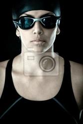 Obraz profesjonalne pływaczka