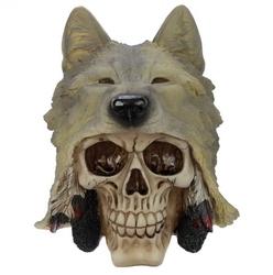 Wolf skull - figurka