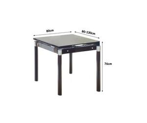 Stół rozkładany kent czarny
